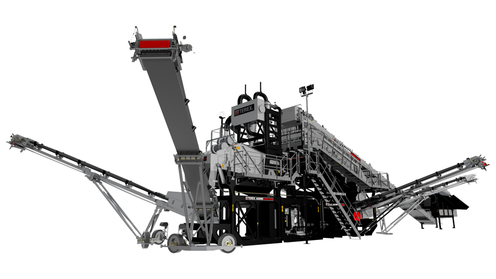 mobile wash plant